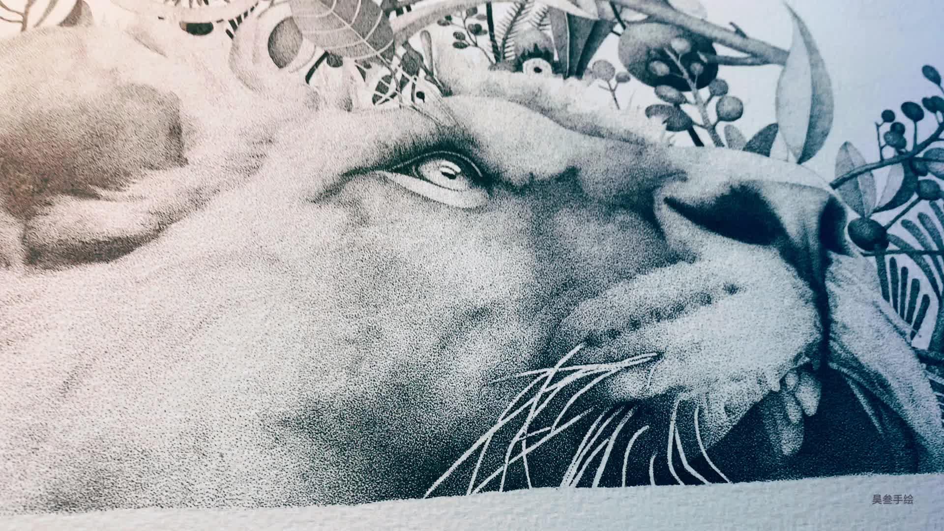 昊叁手绘带你练绘画(四)独特风格