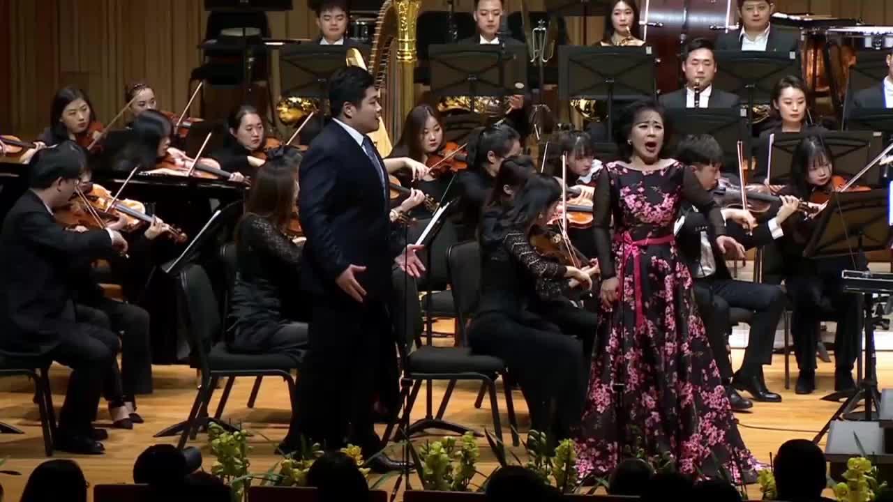 2021西安新年音乐会—《弄臣》二重唱《ADDIO ADDIO》