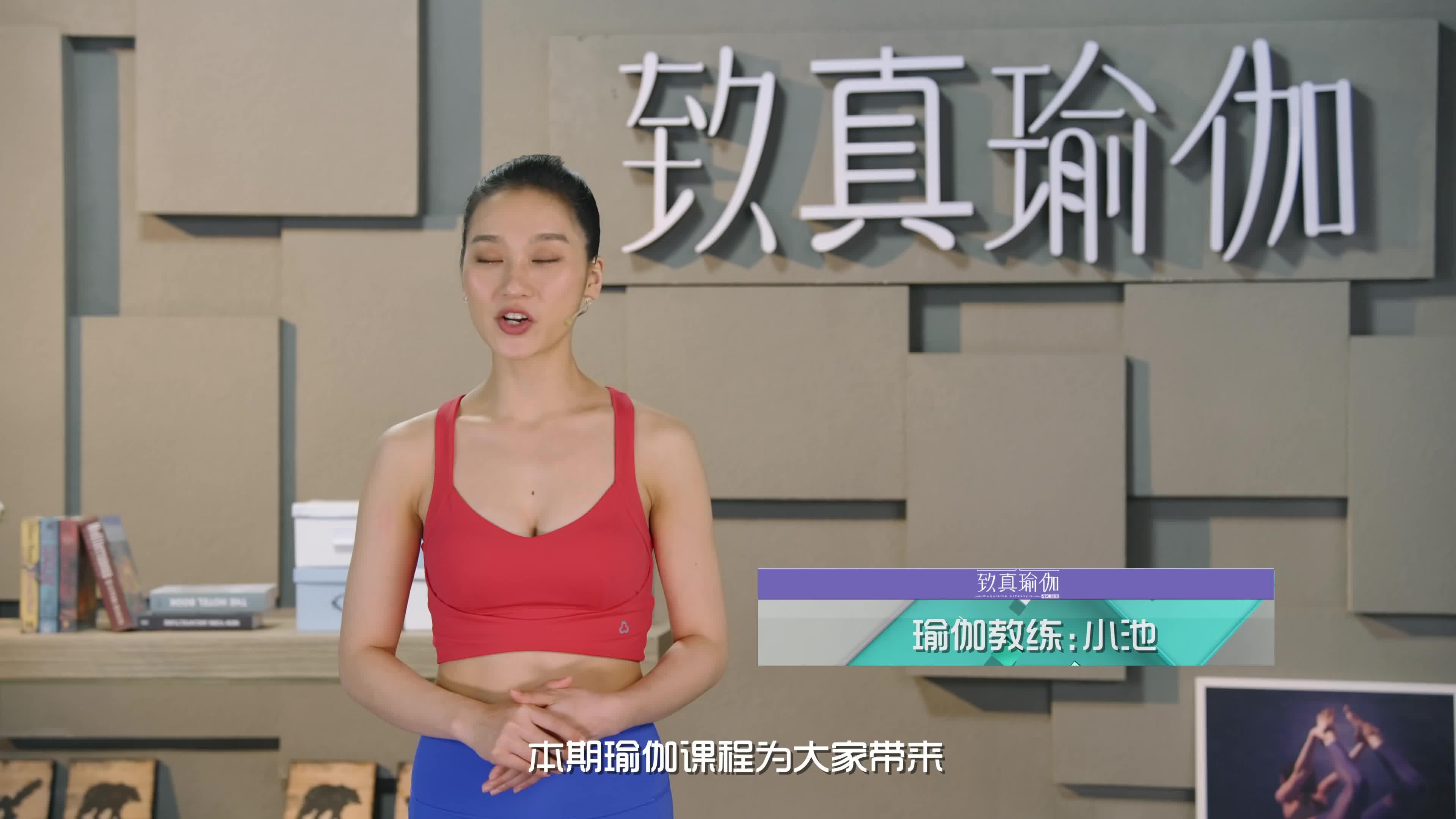 致真瑜伽第12季 系列三十五完美体质打造计划 补养腹部内脏