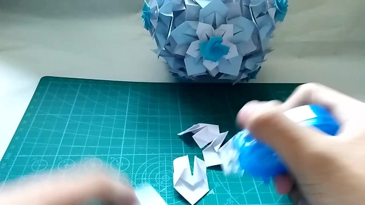 神奇海螺的花球教程 01 STAR of VAN P2 拼接