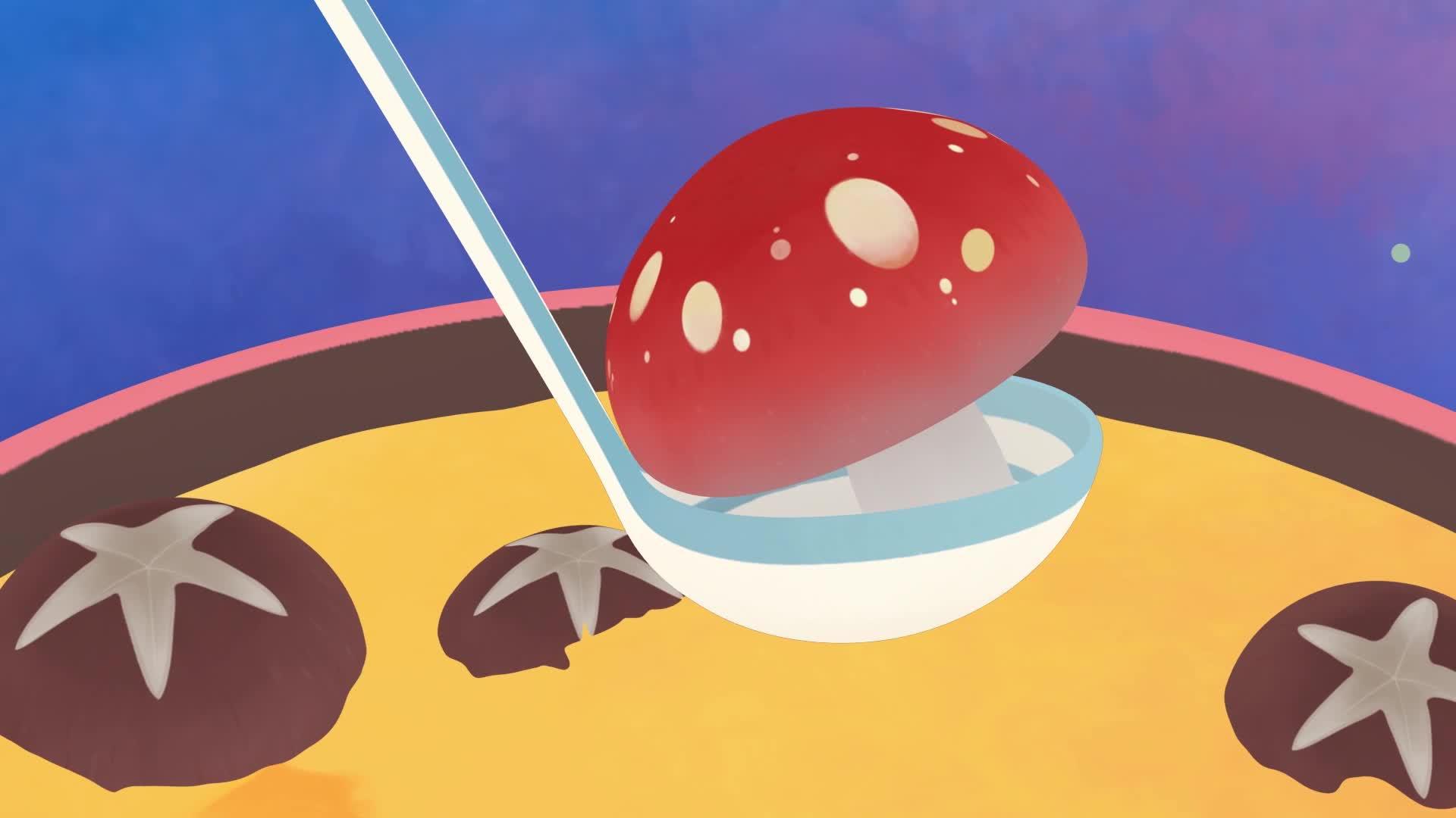 《小鸡彩虹》第七季 20漂亮的蘑菇