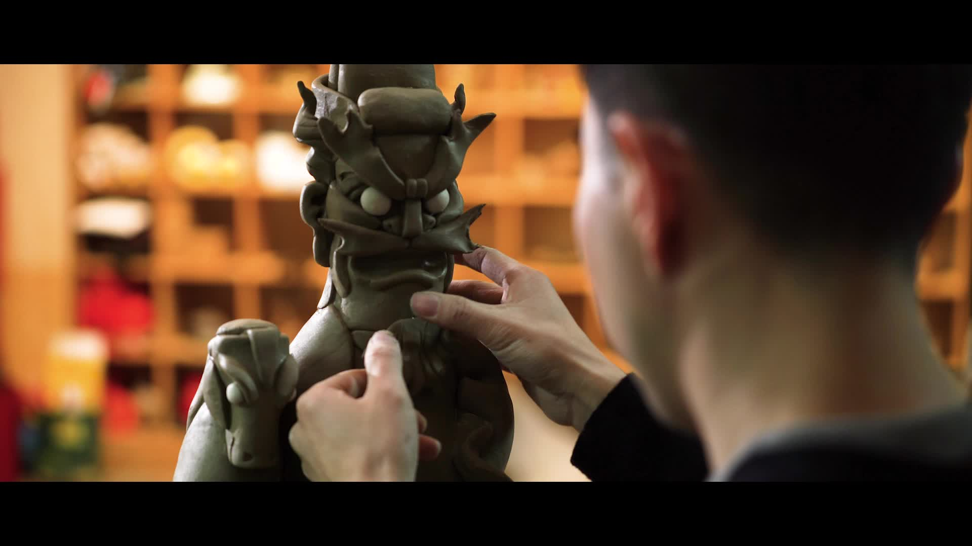 「预告片」陶瓷雕塑匠人谢成龙