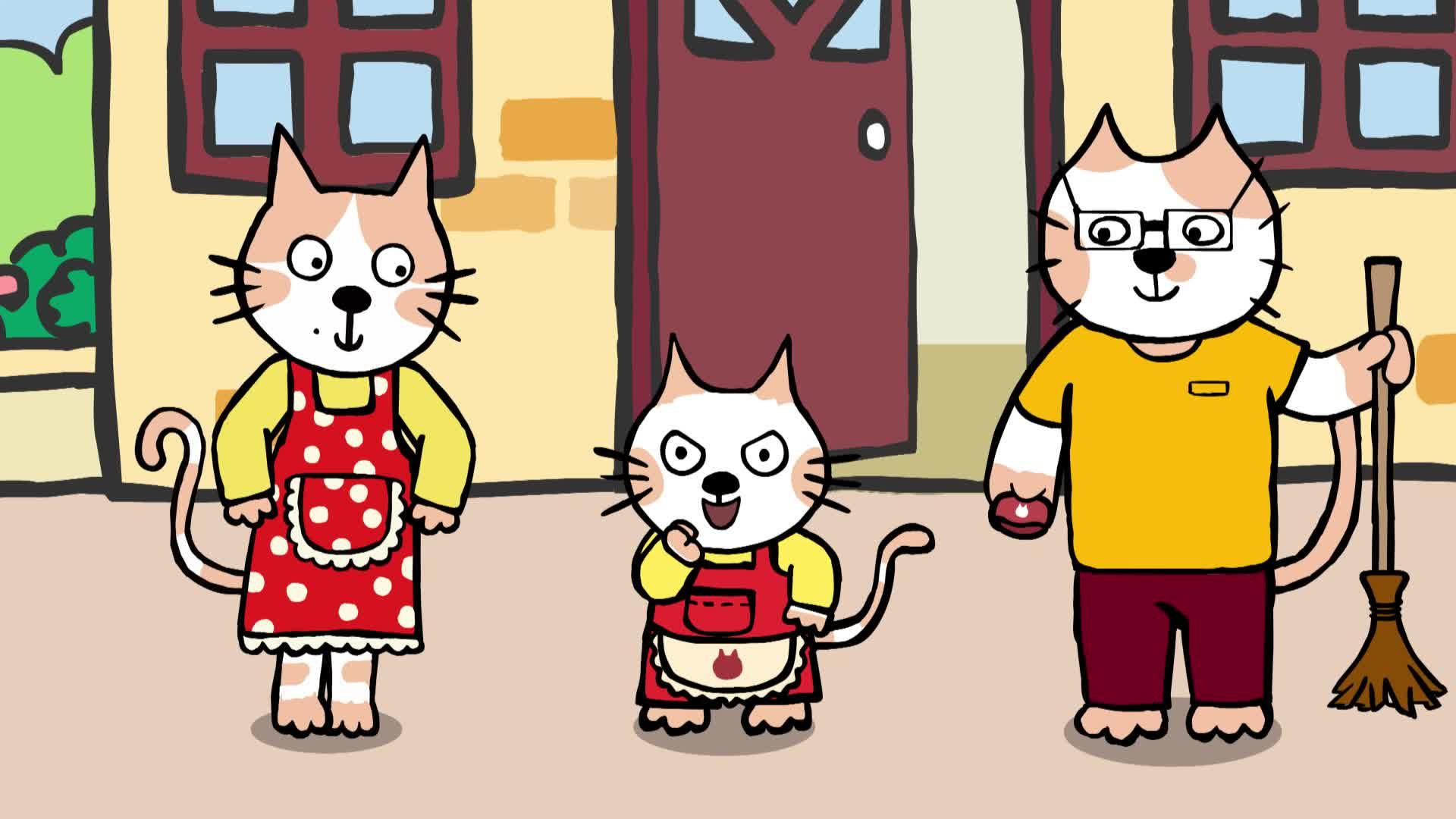 《小猫汤米》第一季 21劳动最光荣
