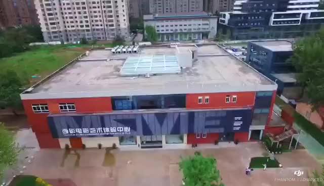 科普电影文化传承传统文化 中秋节西影电影艺术体验中心上演华服秀