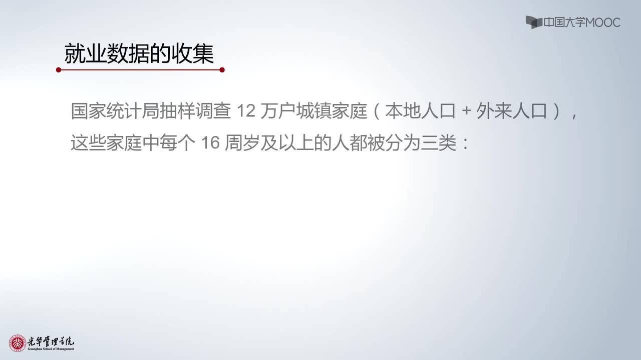 北京大学宏观经济学:第6讲,就业