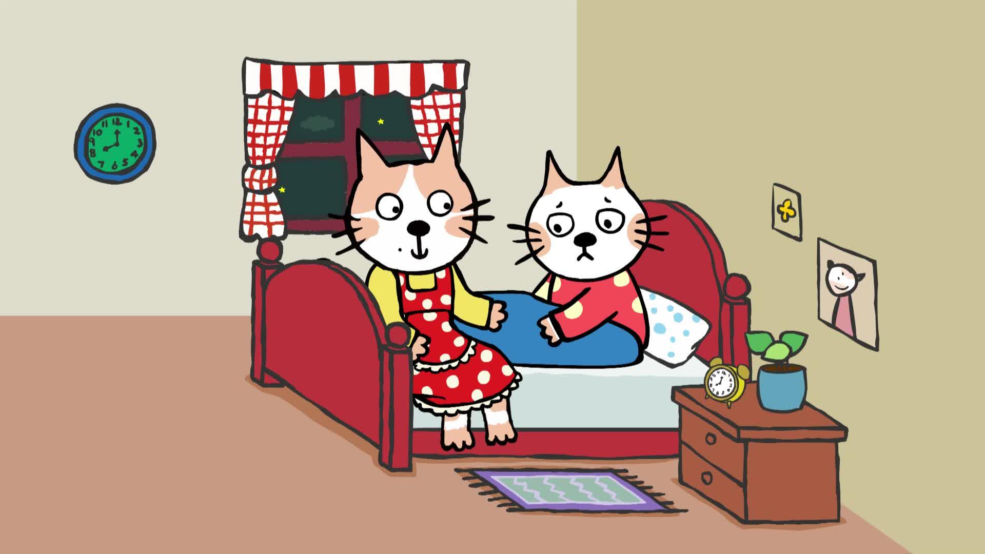 《小猫汤米》第一季 17汤米睡不着