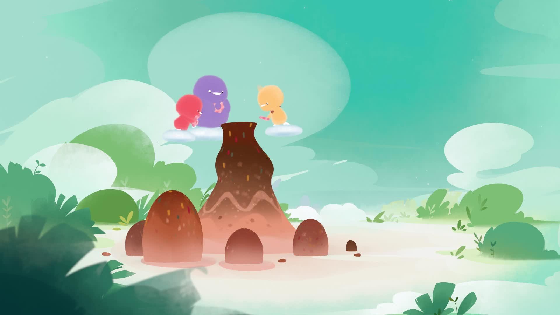 《小鸡彩虹》 第六季 26甜甜云朵山