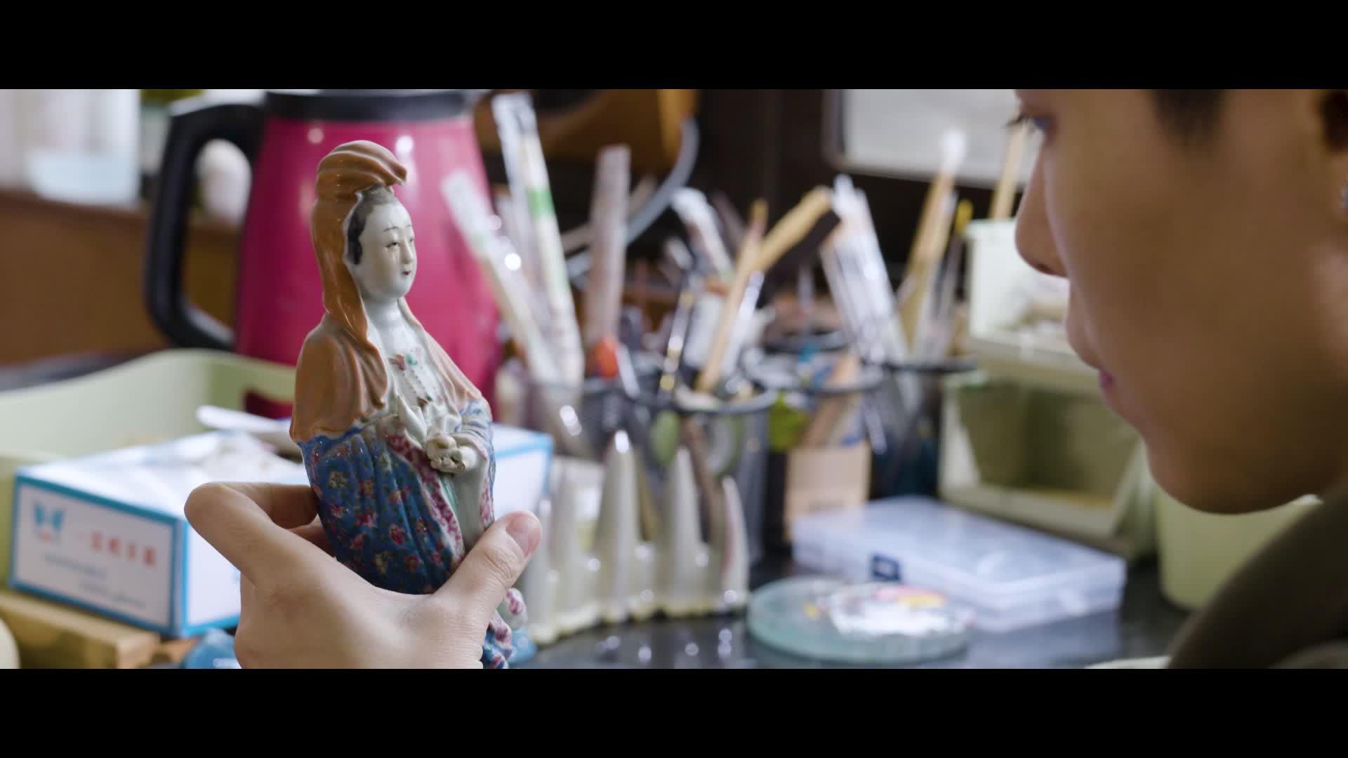 「预告片」90后古陶瓷修复师李琳