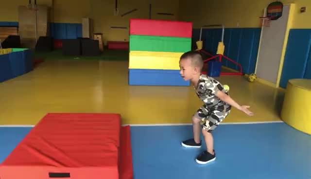 体能训练,从娃娃抓起
