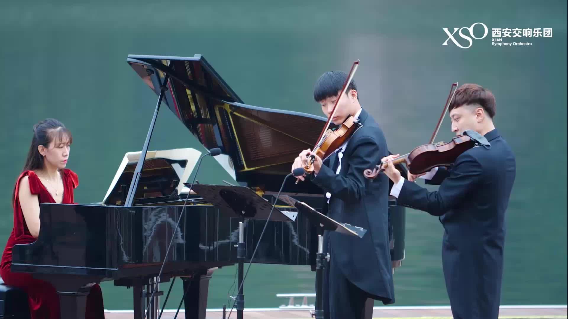 翠华山行音乐会——为双小提和钢琴所作的五首小品(选段)5.波尔卡