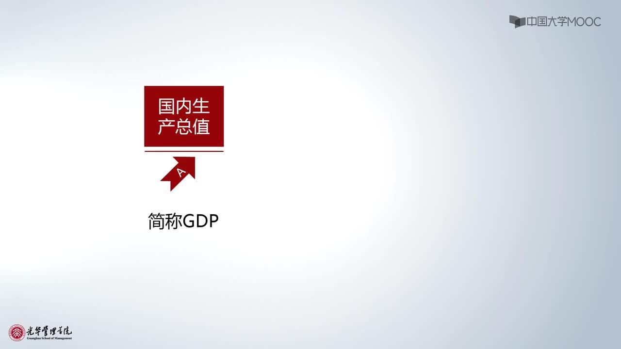 北京大学宏观经济学:第2讲,国内生产总值