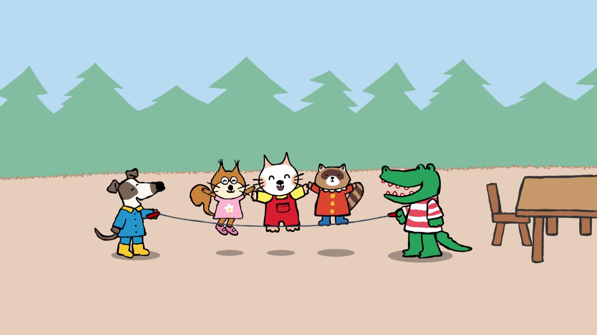 《小猫汤米》第一季 08爸爸的纪念币