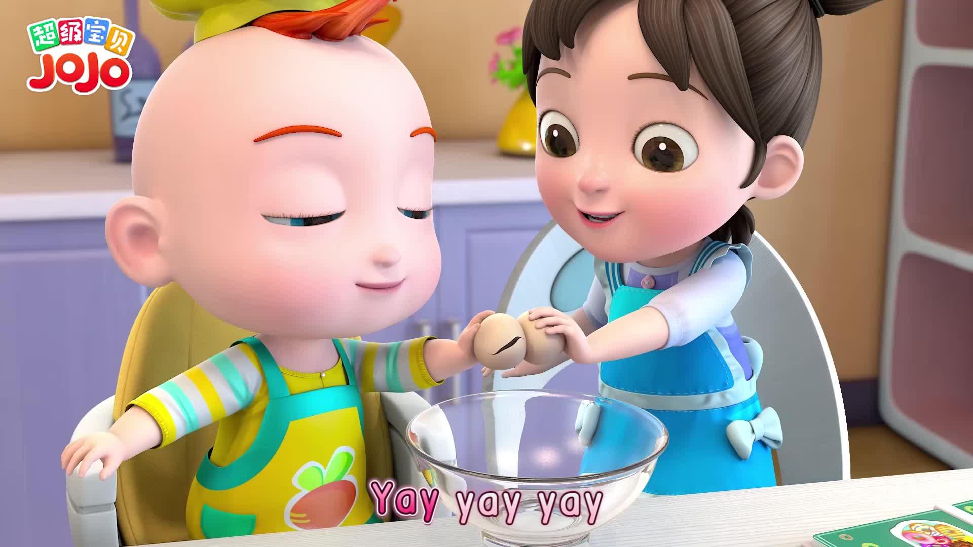 超级宝贝JOJO 第27集 我会做甜甜圈
