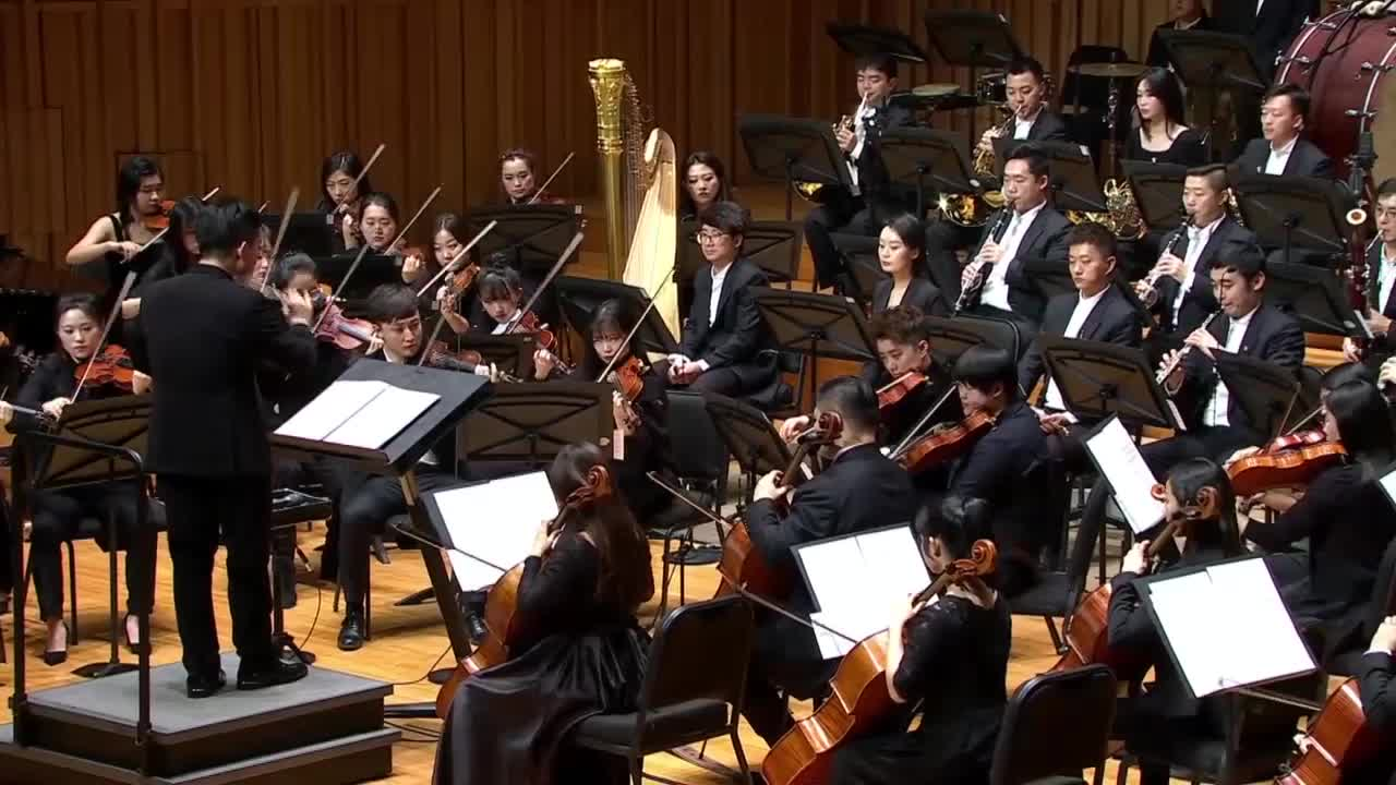 2021西安新年音乐会—《凯旋进行曲》