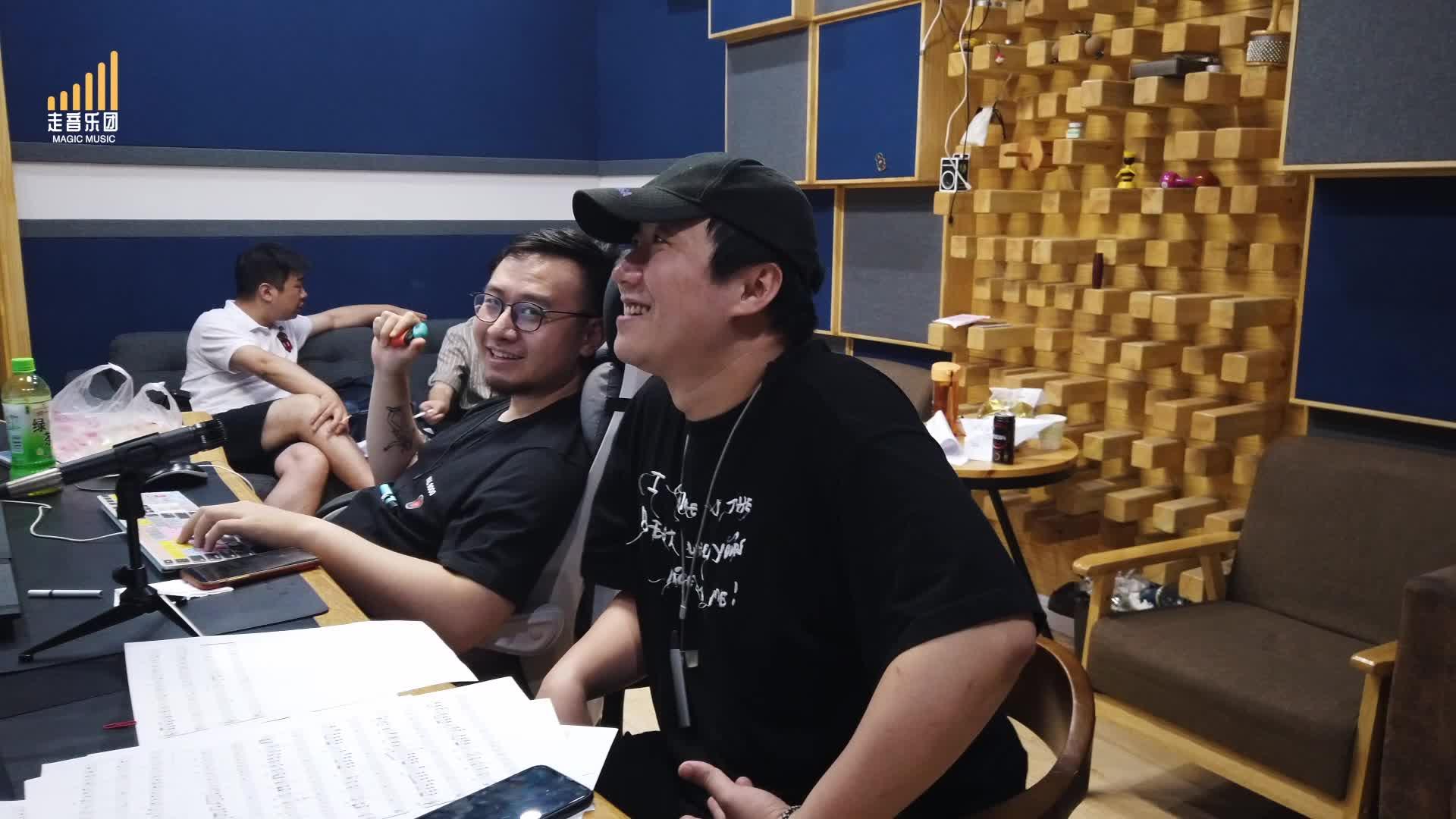 【走音 Vlog】赵亮棋,马耀华联手原创,大原子被我整疯