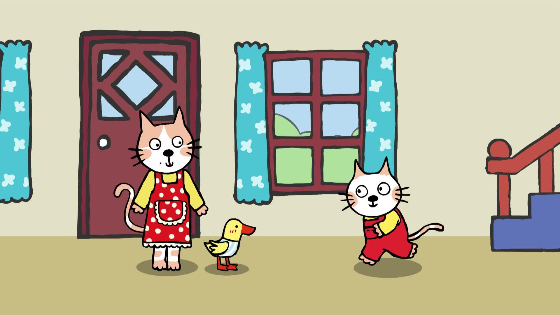 《小猫汤米》第一季 16照顾小宝宝