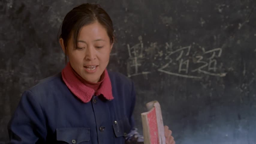 贫困山区的课堂 再艰苦也要让孩子得到知识