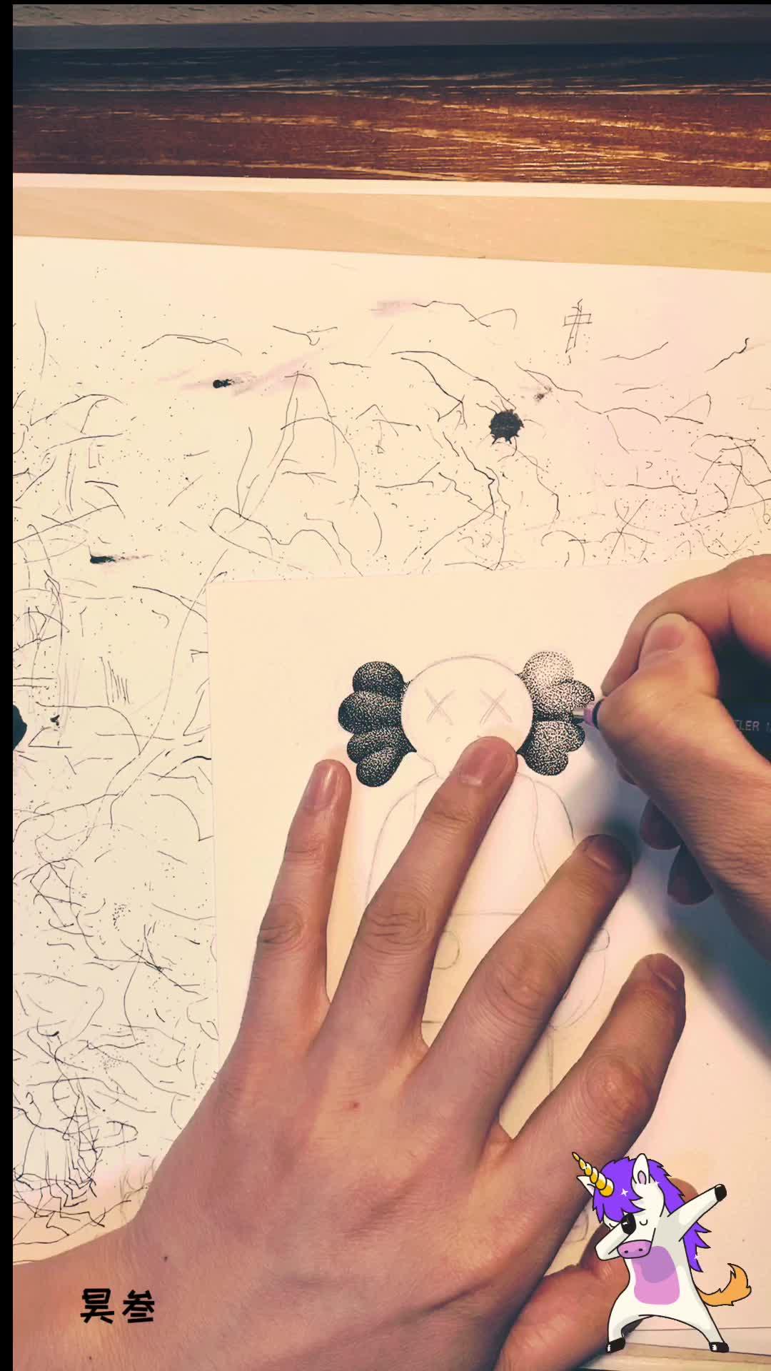 昊叁手绘带你练绘画(六)哥特风