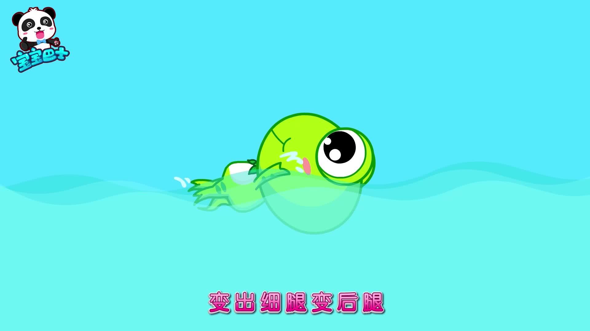 宝宝巴士儿歌 第32集 小蝌蚪变青蛙