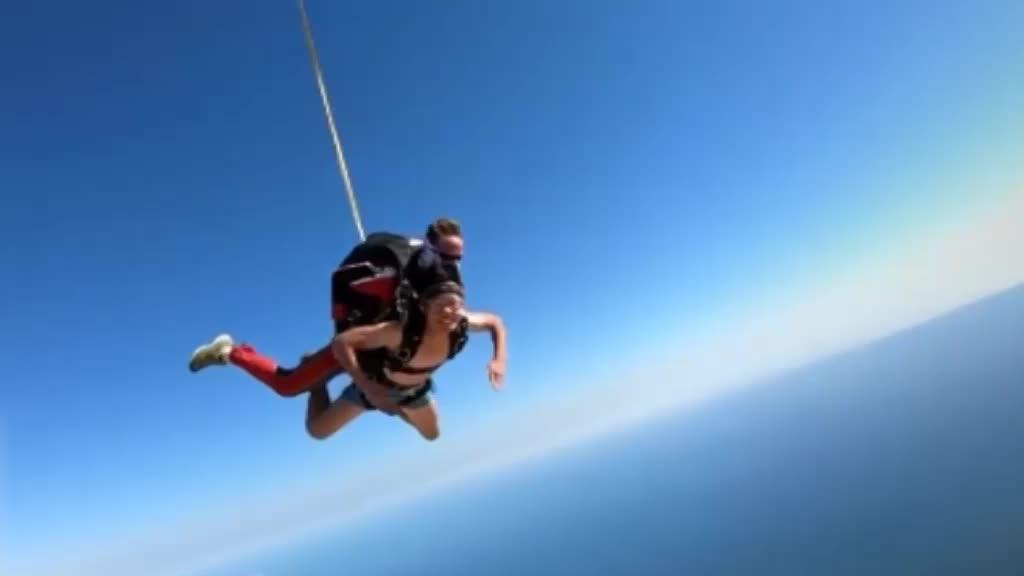 环球哥跳伞初体验