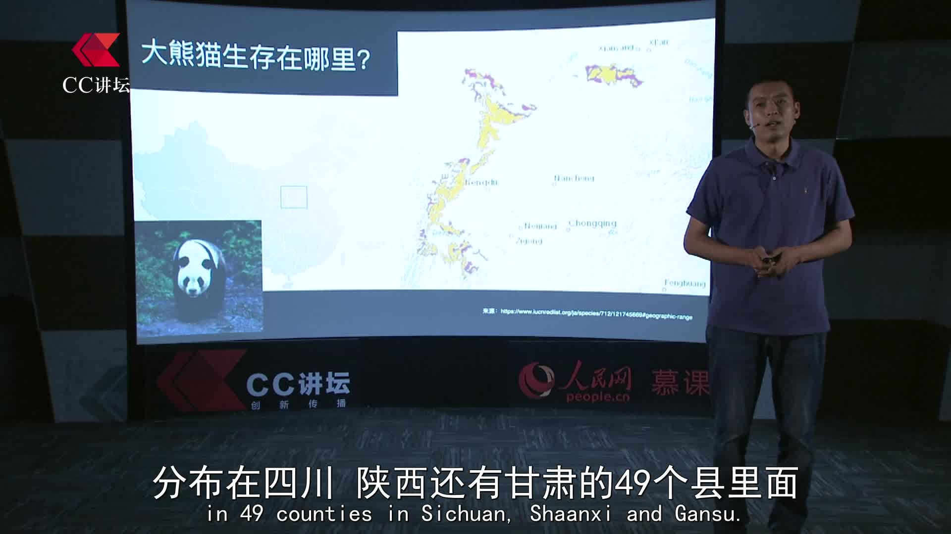 CC讲坛(公益):张玉波《守护大熊猫的小蜜蜂》