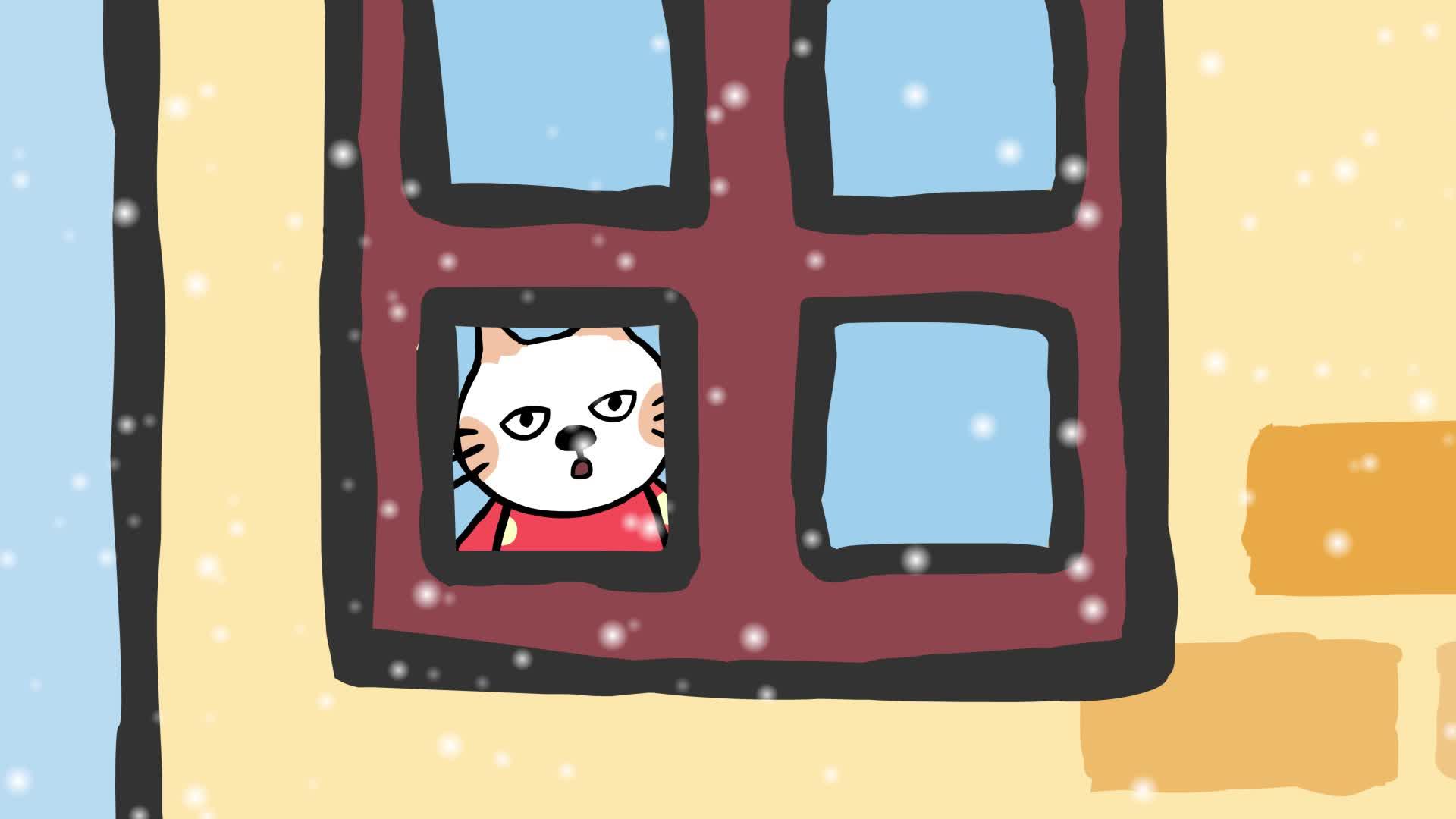《小猫汤米》第一季 26瑞雪兆丰年