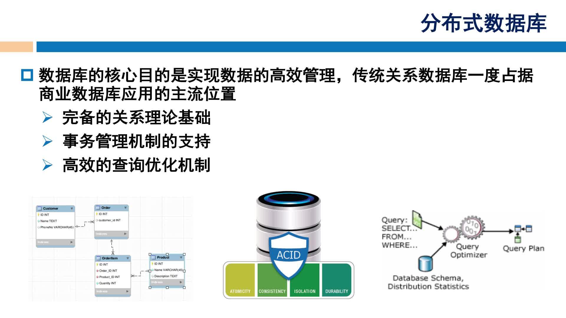 北京理工大学慕课——张美慧:大数据存储与管理(二)