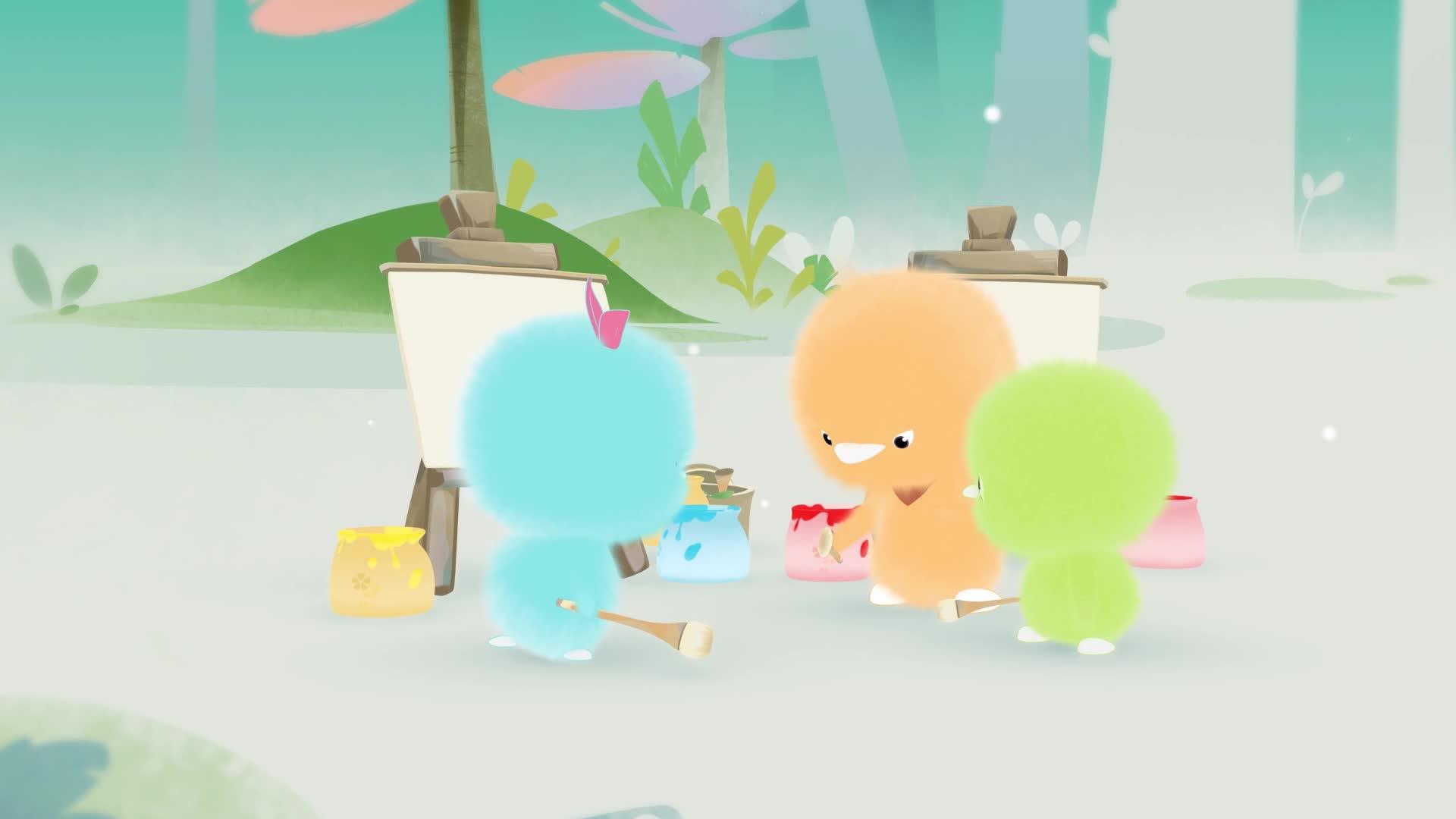 《小鸡彩虹》 第五季 23画画真有趣