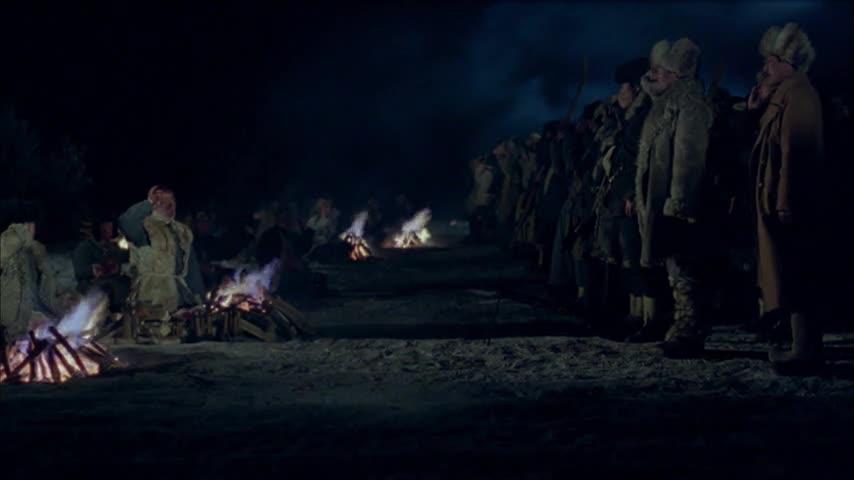 伤兵请求不与大部队撤离