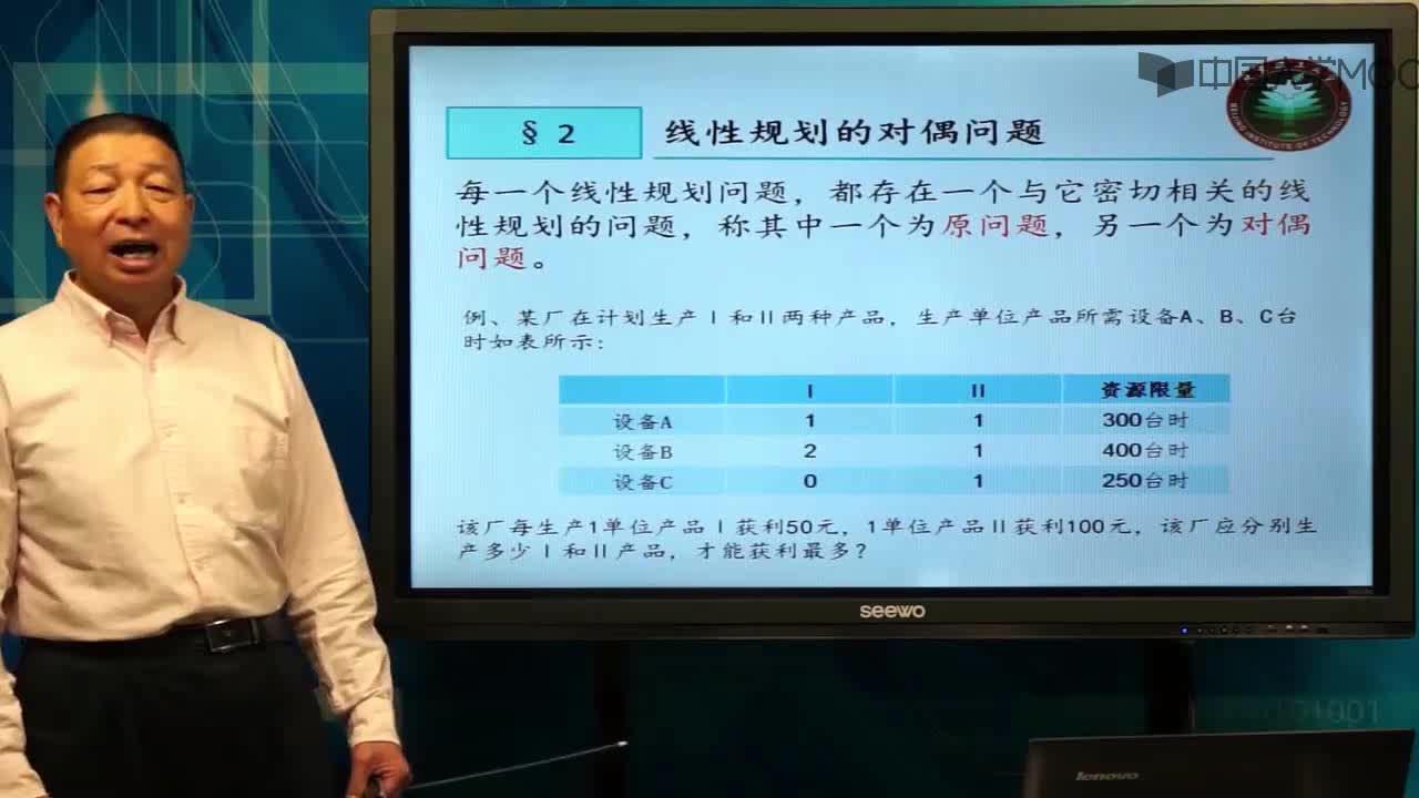 北京理工大学管理运筹学:第33讲