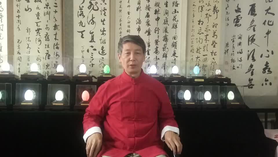 中国蛋雕第一人 蛋雕艺术家闻福良祝西影60周年生日快乐