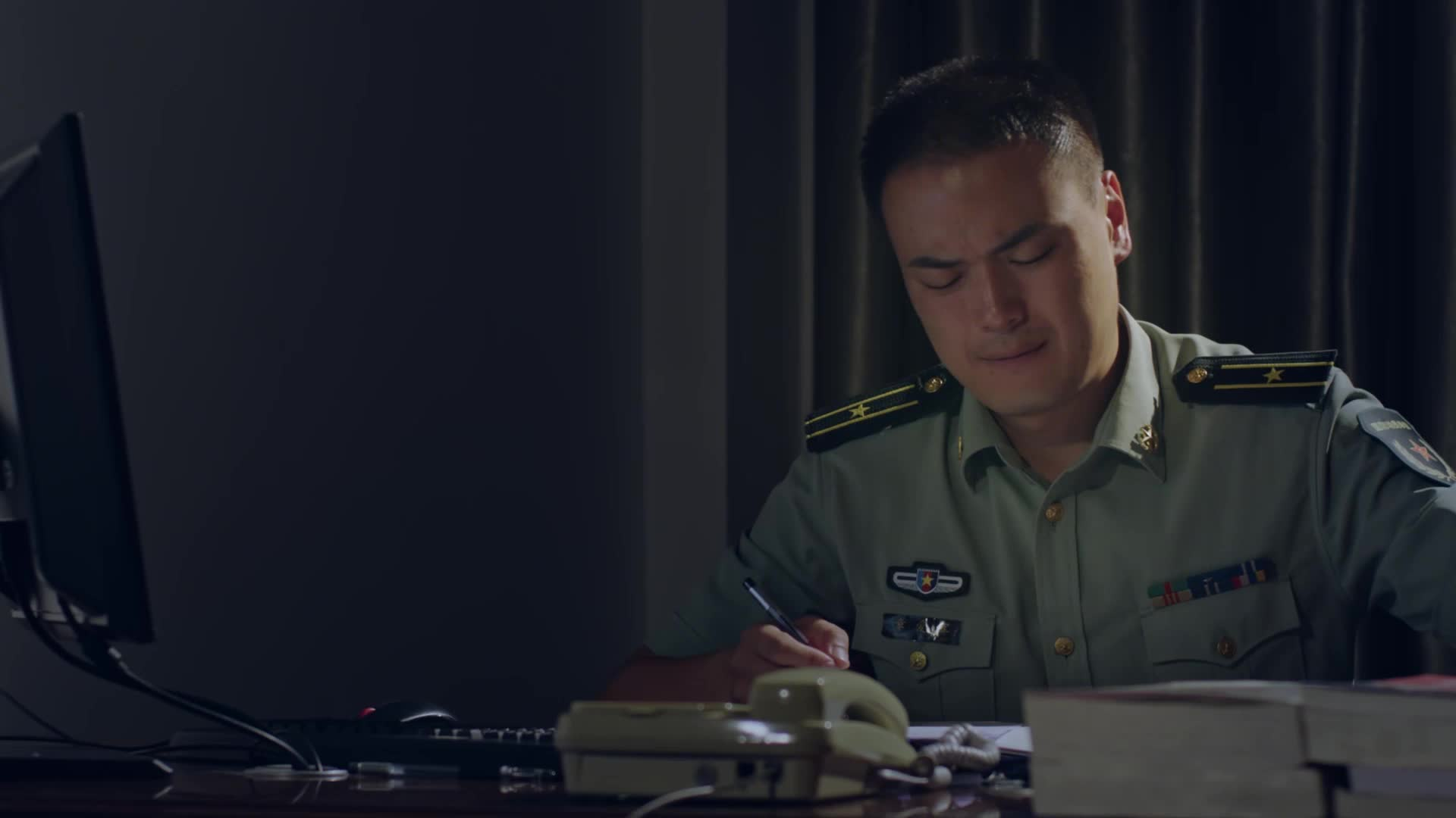军旅题材微电影《抉择》