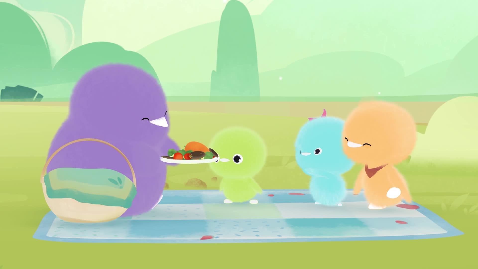 《小鸡彩虹》 第五季 09挑食的小绿