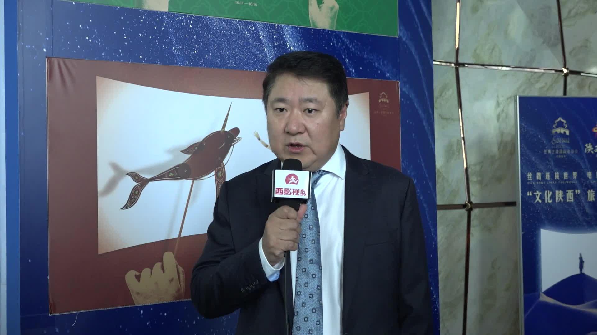 博纳影业总裁于冬采访