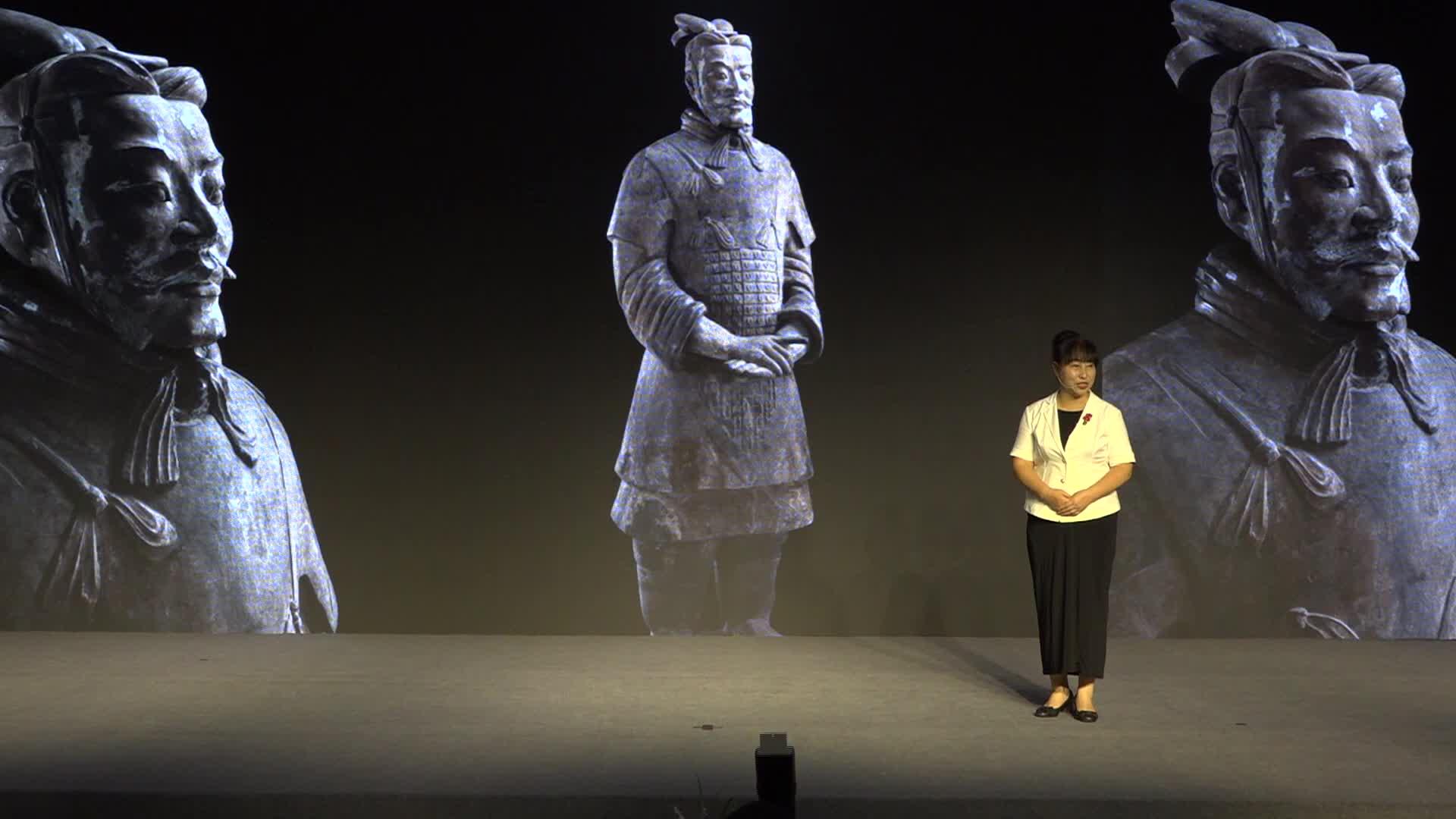 【书声】秦始皇帝陵博物院副院长田静解读兵马俑
