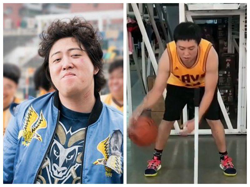 《西虹市首富》主演张一鸣,篮球训练集锦