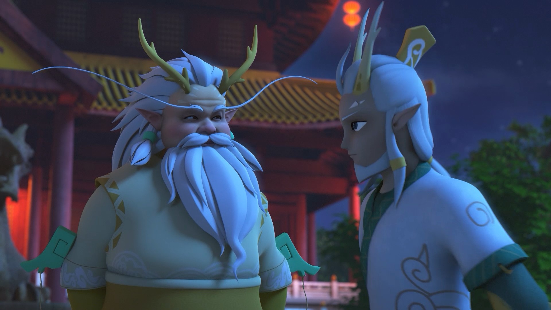 《秦天龙王子》第23集 龙国危机下